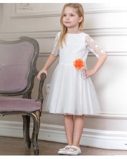 Sukienka dla dziewczynki na komunię lub wesele