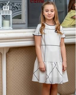 Sukienki dla dziewczynek, proste, eleganckie