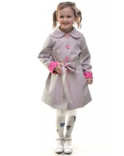 Płaszcz na wiosnę dla każdej dziewczynki