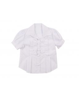 Dziewczęca bluzka z żabotem 122-158 Odetta bluzka