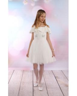 Elegancka hiszpanka dla dziewczynki 134-158 Idera ecru