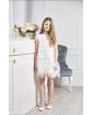 Koronkowa sukienka z tiulem 122-152 Jenifer ecru 1