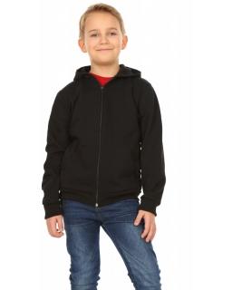 Sportowa bluza chłopięca 116-158 KRP222 czarna