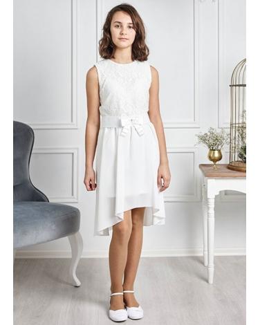 d844497b58 Sukienka dla dziewczynki z krótszym przodem 1