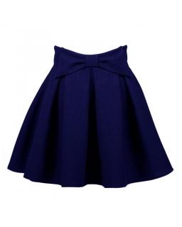 Elegancka spódnica dla dziewczynki 122-164 Maja granatowa