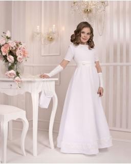 Sukienka komunijna Poezja biała CB