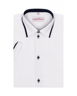 Koszula z krótkim rękawem dla chłopca 122-172 KS23