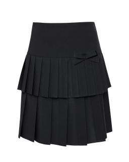 Plisowana spódnica szkolna 122-158 309a/s/19 czarna