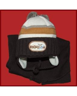Komplet czapka i szalik dla chłopca 44 Alan