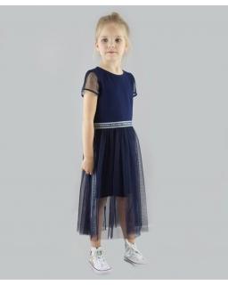 69a719a9 Sukienka dla dziewczynki na szkolne akademie 122-164 P-149/viw