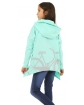 Bluza dziewczęca typu oversize 128-158 KR56 mięta 2