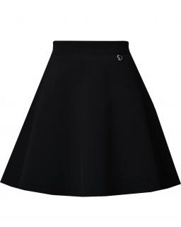Klasyczna szkolna spódnica dla dziewczynki 134-164 Wiola czarna
