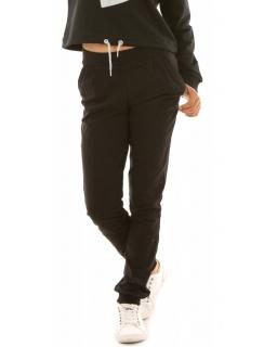 Spodnie dresowe dla dziewczynek czarne, sklep