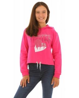 Modna bluza dla dziewczynki różowa