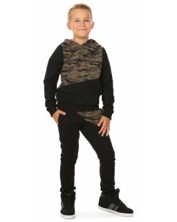 Dresy chłopięce, dla chłopca, sklep, dres moro bluza i spodnie