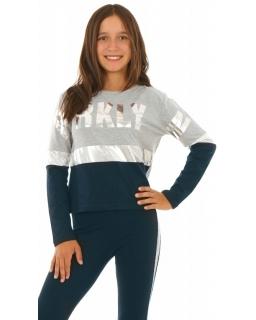 Modne bluzki dla dziewczynek, z nadrukiem, bawełna 100%, sklep