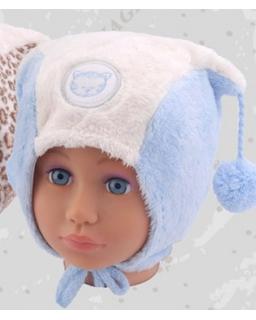 Zimowa czapka dla chłopca 42-48 Antoś