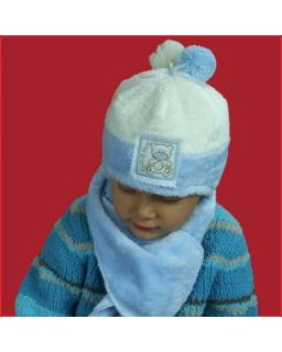 Zimowa czapka dla chłopca 42-46 Eryk