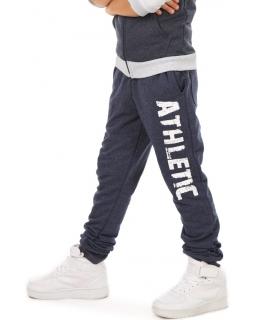 Sportowe spodnie dla chłopca 116-158 KRP305 granat