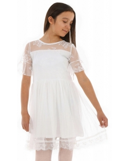 Białe sukieneczki dla dziewczynek, sklep internetowy