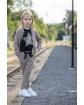 Żakiet w kratkę dla dziewczynki 128-158 G-306/viw