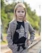Żakiet w kratkę dla dziewczynki 128-158 G-306/viw 2