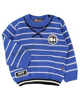Elegancko sportowy sweter dla chłopca 74 - 104 Przemek