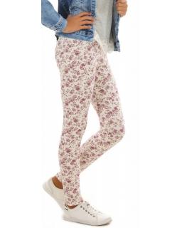 Ciepłe legginsy dla dziewczynki, getry bawełniane na jesień, sklep