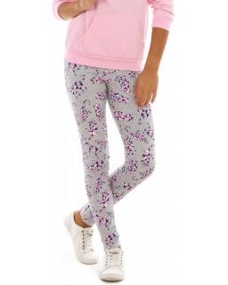 Ciepłe legginsy dla dziewczynki, getry bawełniane na jesień, sklep koty