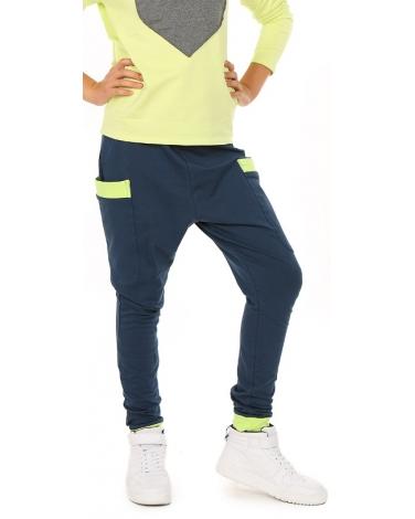 spodnie dresowe baggy dla dziewczynki
