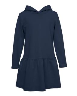 Sportowa sukienka dla dziewczynki 128-164 26B/J/19 granat