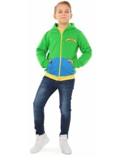 Bluza kameleon dla chłopca 116-158 KRP320 zielona 1