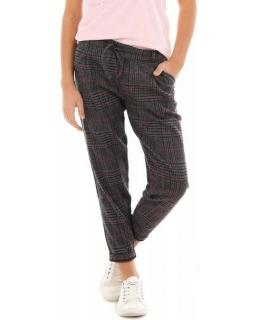 Spodnie w krtakę dla dziewczynki 128-164 KRP321 mix