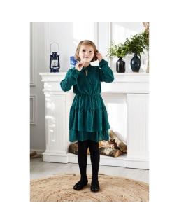 Młodzieżowa sukienka dla dziewczynki 134-164 Julka zielona
