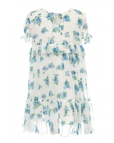 Sukienka w drobne kwiatki w stylu boho 128-164 38C/SM/20 mix