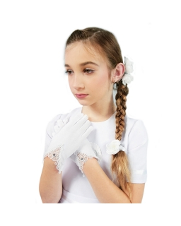 Rękawiczki komunijne K16