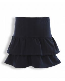 Bawełniana spódniczka dla dziewczynki 128-158 KRP337 granatowa