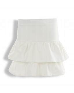 Bawełniana spódniczka dla dziewczynki 128-158 KRP337 ecru