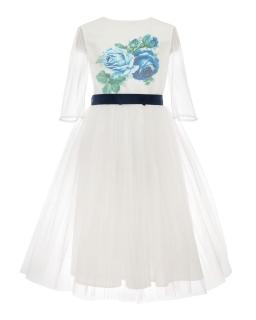 Wizytowa piękna sukienka pokomunijna 134-158 35C/SM/20