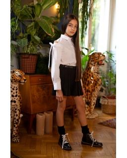 Niebanalna bluzka dla dziewczynki 134-170 103/S/20 biała 1