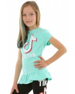 Bluzka dla dziewczynki Tik Tok, tunika, ubrania tik tok dla dzieci