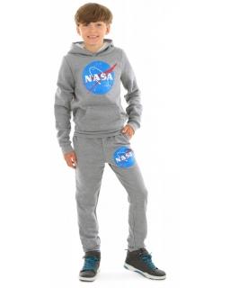 Ciepłe spodnie dla chłopca 116-158 KRP365 szare 1