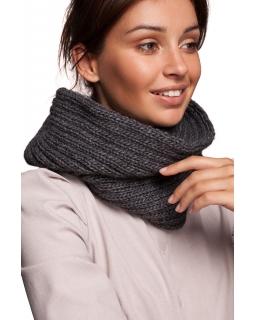 Jesienno-zimowa czapka dla mamy BK058 szara