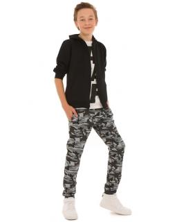 Spodnie dla chłopca, dresowe cieple na zimę, wygodne dresy