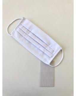 Maseczka ochronna Pakiet 5szt MAS/M/02A biały