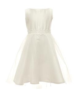 Sukienka do Pierwszej Komunii 128-158 14/sm/20 ecru
