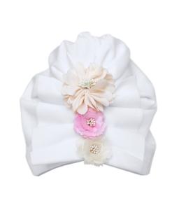 Biała czapeczka do chrztu 1/SMMC-01A biel