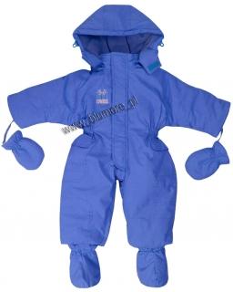 Kombinezon, buciki, rękawiczki - zestaw zimowy 74 - 104 Binek