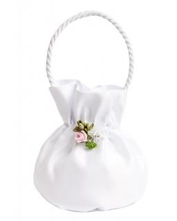 Komunijna torebka z kwiatkiem T143