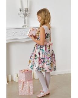Oryginalna sukienka w kwiaty 134-164 Hazel
